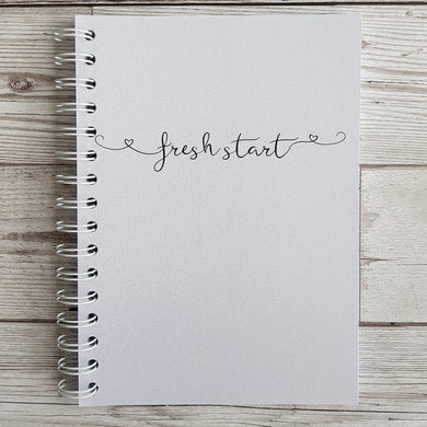 Pearlised Fresh Start 6 Month Maintenance Diary