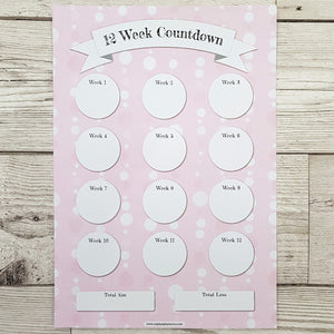 Pink Bubble Countdowns