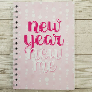 Pink New Year New Me 6 Month Maintenance Diary