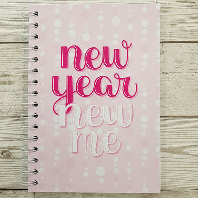 Pink New Year New Me 8 and 12 Week Food Diary