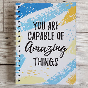 You are capable 12 Week Food Diary