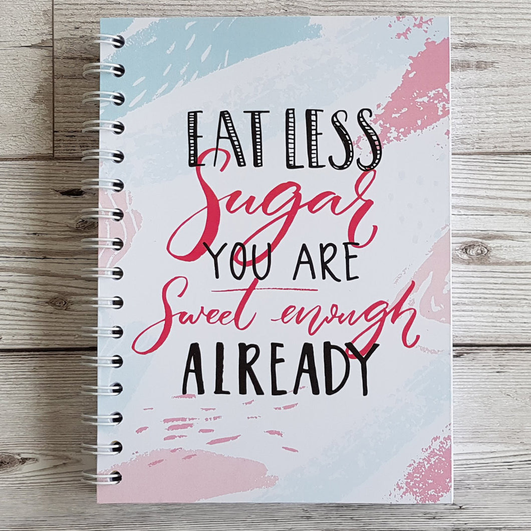 Eat Less Sugar 12 Week Food Diary