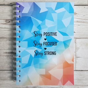 Stay Positive 8 and 12 Week Food Diary