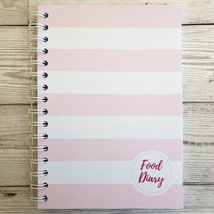 Pink Solid Stripes 6 Month Maintenance Diary