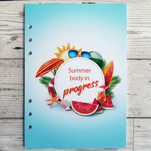 Summer 8 and 12 Week Organiser Refill