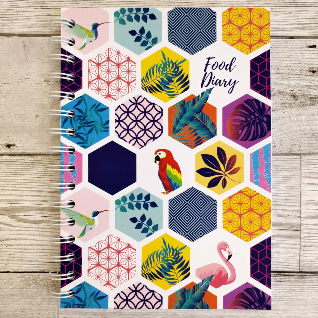 Tropical Tile 8 and 12 Week Food Diary