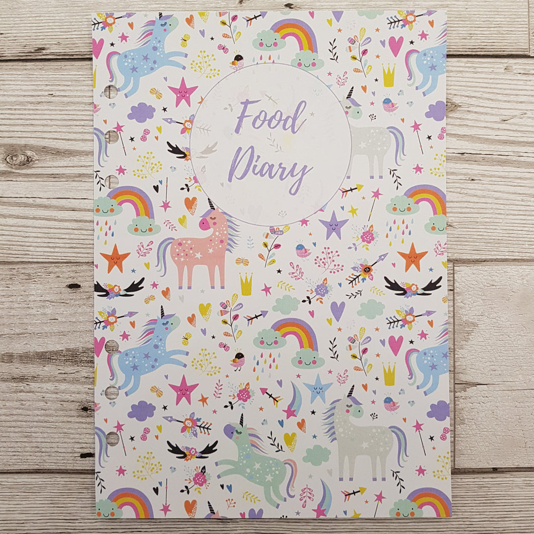 Unicorn 8 and 12 Week Organiser Refill
