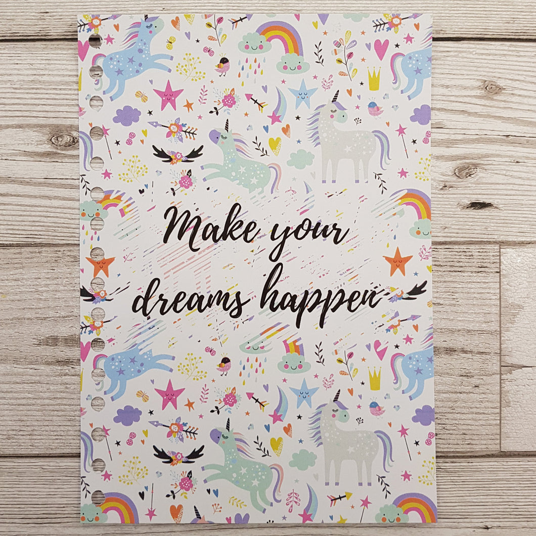 Make Your Dreams Happen 6 Month Maintenance Diary