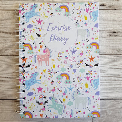 Unicorn 12 Week Exercise Diary