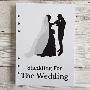 Shedding for the wedding 6 Months Maintenance Diary Inserts