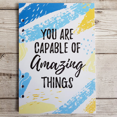 You are Capable 8 and 12 Week Organiser Refill