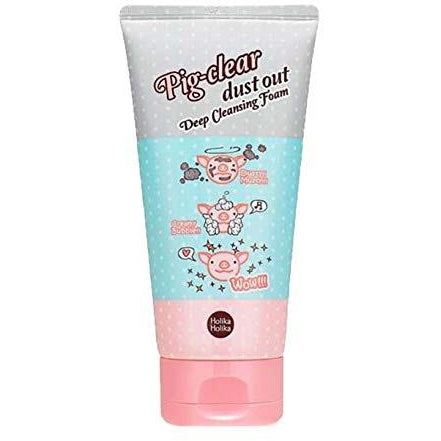 HOLIKA HOLIKA  Pig-Clear Dust Out Deep Cleansing Foam 150ml