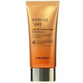 TONY MOLY  Intense Care Gold 24k Snail Sun Cream Spf50 /pa - hada kin