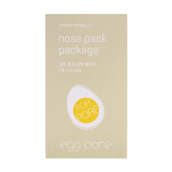 TONY MOLY Egg Pore Nose Pack Package (7 strips)
