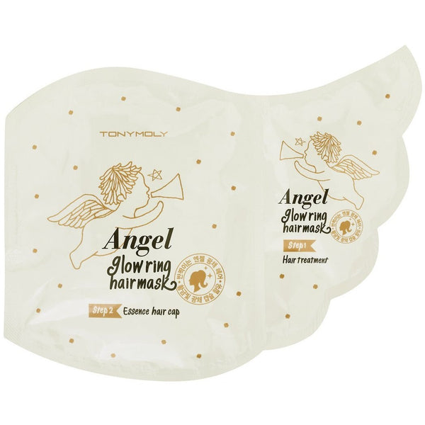 TONY MOLY Angel Glow Ring Hair Mask - hada kin