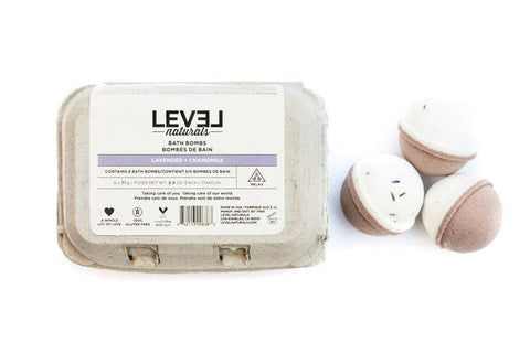 Level Naturals Bath Bomb