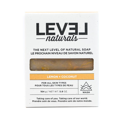 Level Naturals Lemon Coconut Soap
