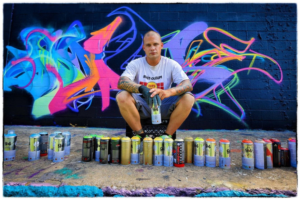 "Nathan ""Sloke"" Nordstrom in Graffiti Documentary"