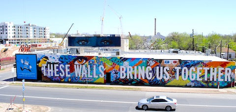 image of Austin murals outdoor graffiti