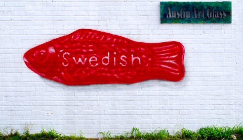 image of outdoor swedish Austin mural