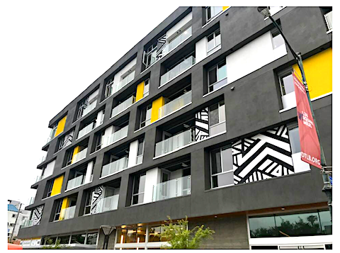 image of outdoor Austin residential building painting