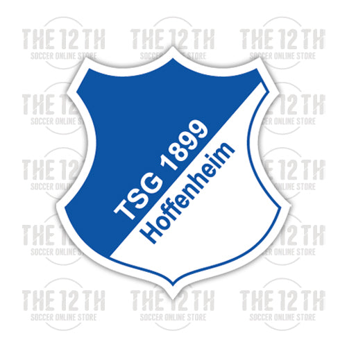 TSG 1899 Hoffenheim Removable Vinyl Sticker Decal - 12 Soccer Tee