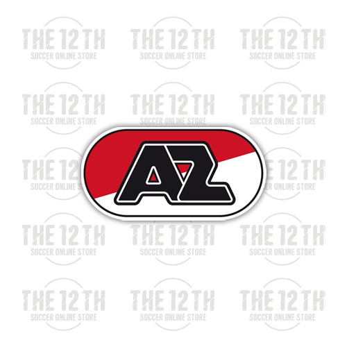 AZ Alkmaar Removable Vinyl Sticker Decal - 12 Soccer Tee