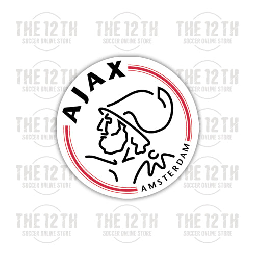 AFC Ajax Removable Vinyl Sticker Decal - 12 Soccer Tee