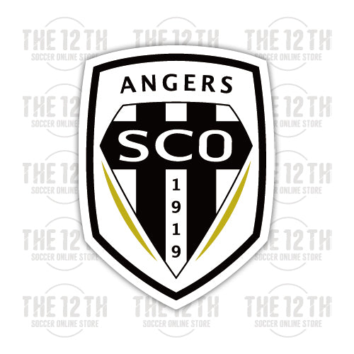 Angers SCO Removable Vinyl Sticker Decal - 12 Soccer Tee