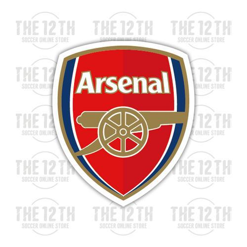 Arsenal Removable Vinyl Sticker Decal - 12 Soccer Tee