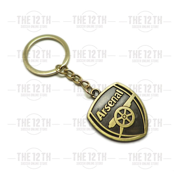 Arsenal Metallic Crest Keyring