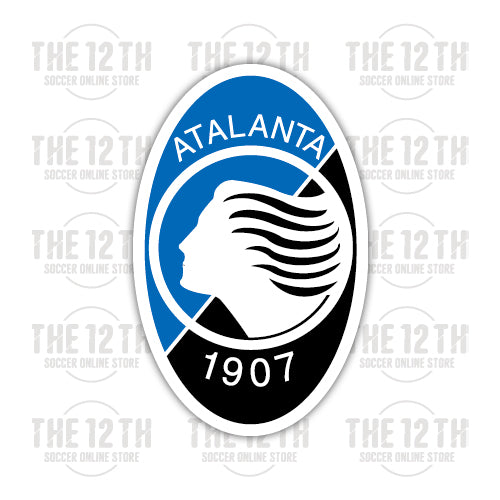 Atalanta B.C. Removable Vinyl Sticker Decal - 12 Soccer Tee