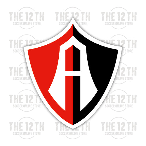 Club Atlas Removable Vinyl Sticker Decal - 12 Soccer Tee