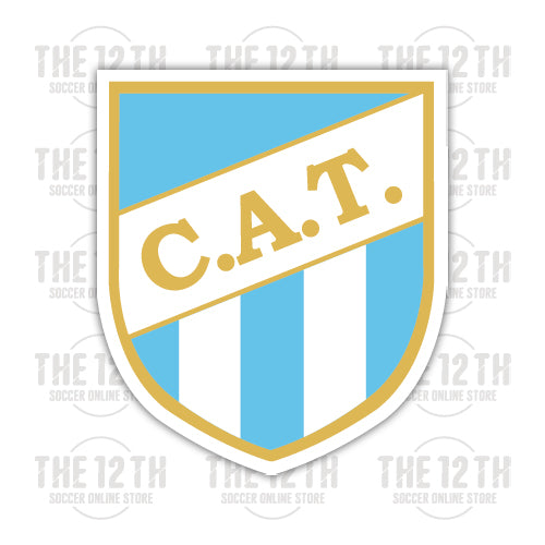 Atletico Tucuman Removable Vinyl Sticker Decal - 12 Soccer Tee