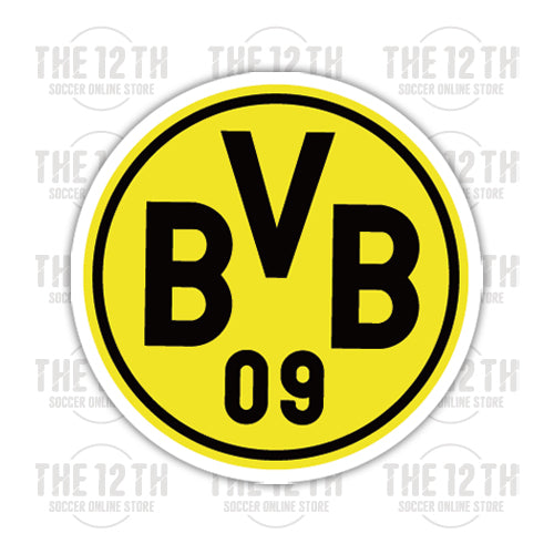 Borussia Dortmund BVB Removable Vinyl Sticker Decal - 12 Soccer Tee