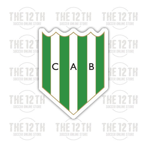 Club Atletico Banfield Removable Vinyl Sticker Decal - 12 Soccer Tee
