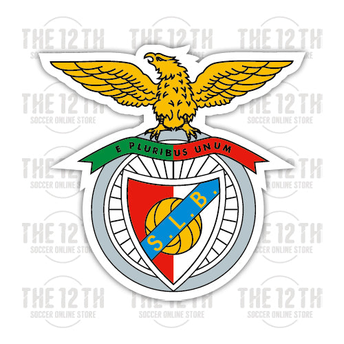 S.L. Benfica Removable Vinyl Sticker Decal - 12 Soccer Tee