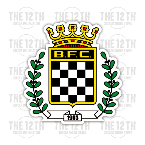 Boavista F.C. Removable Vinyl Sticker Decal - 12 Soccer Tee
