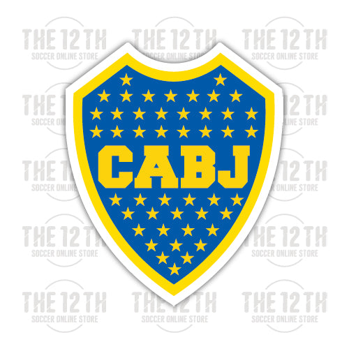 Boca Juniors Removable Vinyl Sticker Decal - 12 Soccer Tee