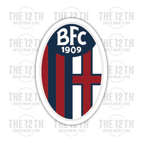 Bologna F.C. 1909 Removable Vinyl Sticker Decal - 12 Soccer Tee