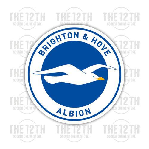 Brighton & Hove Albion Removable Vinyl Sticker Decal - 12 Soccer Tee