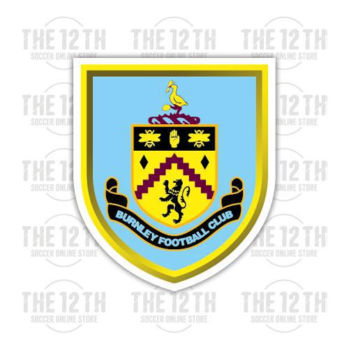 Burnley Removable Vinyl Sticker Decal - 12 Soccer Tee