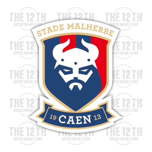 Stade Malherbe Caen Removable Vinyl Sticker Decal - 12 Soccer Tee