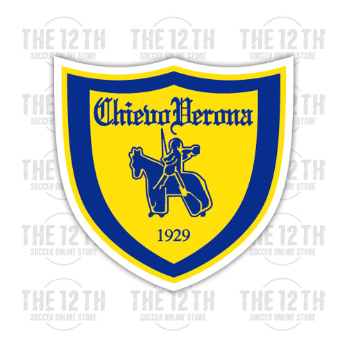 A.C. ChievoVerona Removable Vinyl Sticker Decal - 12 Soccer Tee