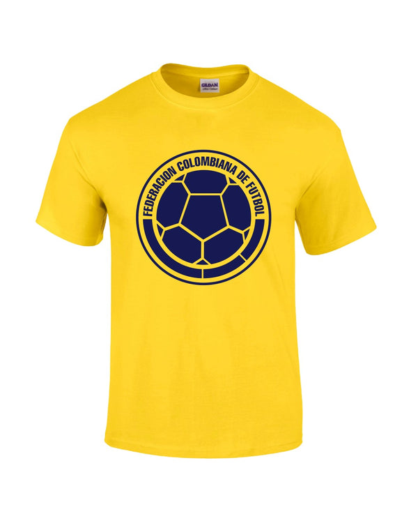 Colombia T-Shirt - Yellow - Mens