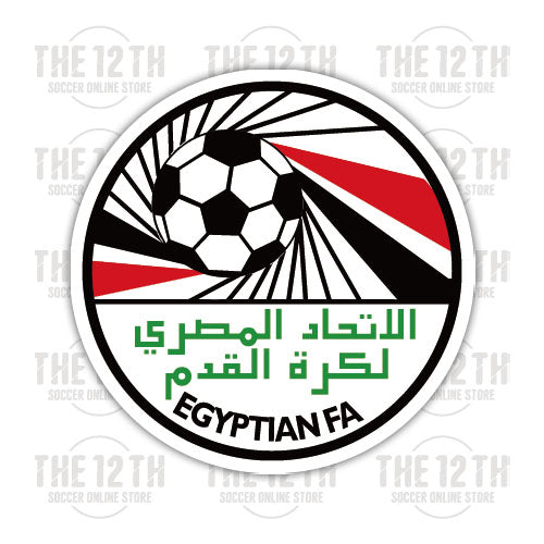 Egypt Removable Vinyl Sticker Decal - 12 Soccer Tee