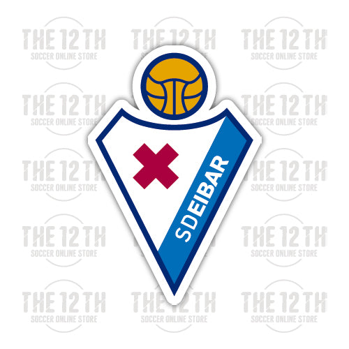 SD Eibar Removable Vinyl Sticker Decal - 12 Soccer Tee