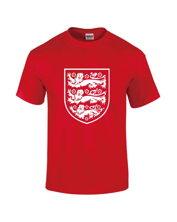 England T-Shirt - Red - Mens