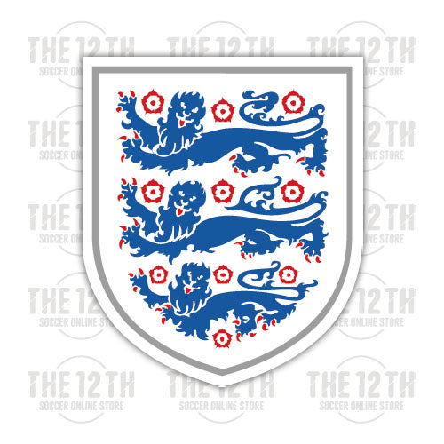 England Removable Vinyl Sticker Decal - 12 Soccer Tee