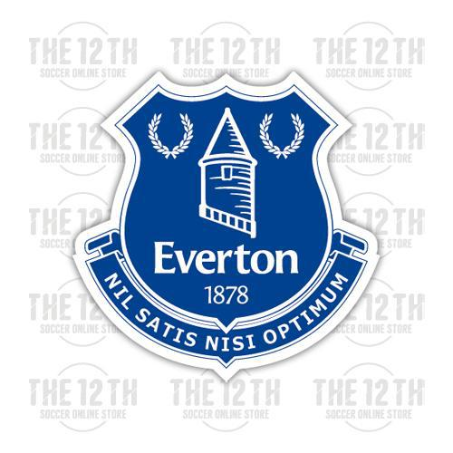 Everton Removable Vinyl Sticker Decal - 12 Soccer Tee